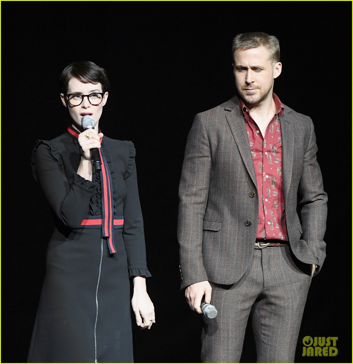 ryan gosling claire foy and damien chazelle talk first man at cinemacon 2018 094072279