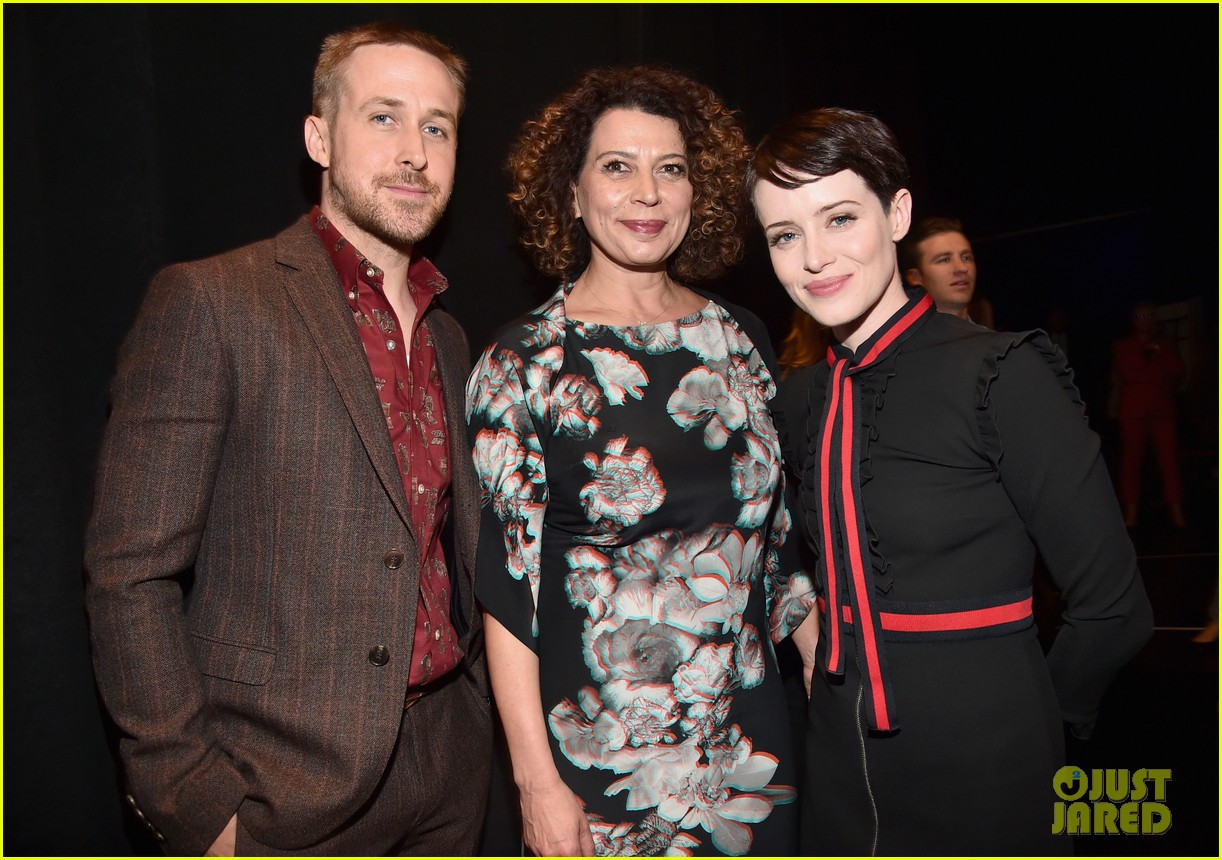ryan gosling claire foy and damien chazelle talk first man at cinemacon 2018 174072287