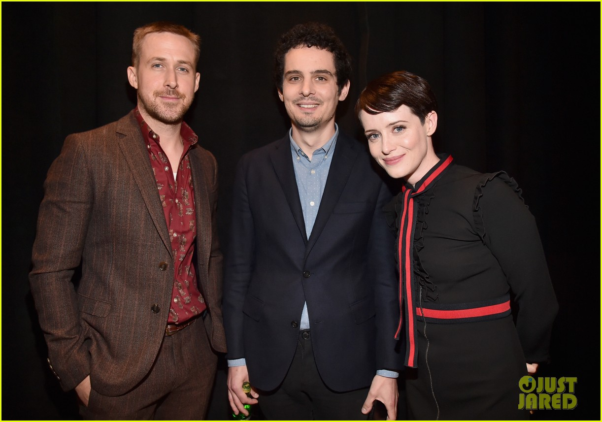 ryan gosling claire foy and damien chazelle talk first man at cinemacon 2018 274072297