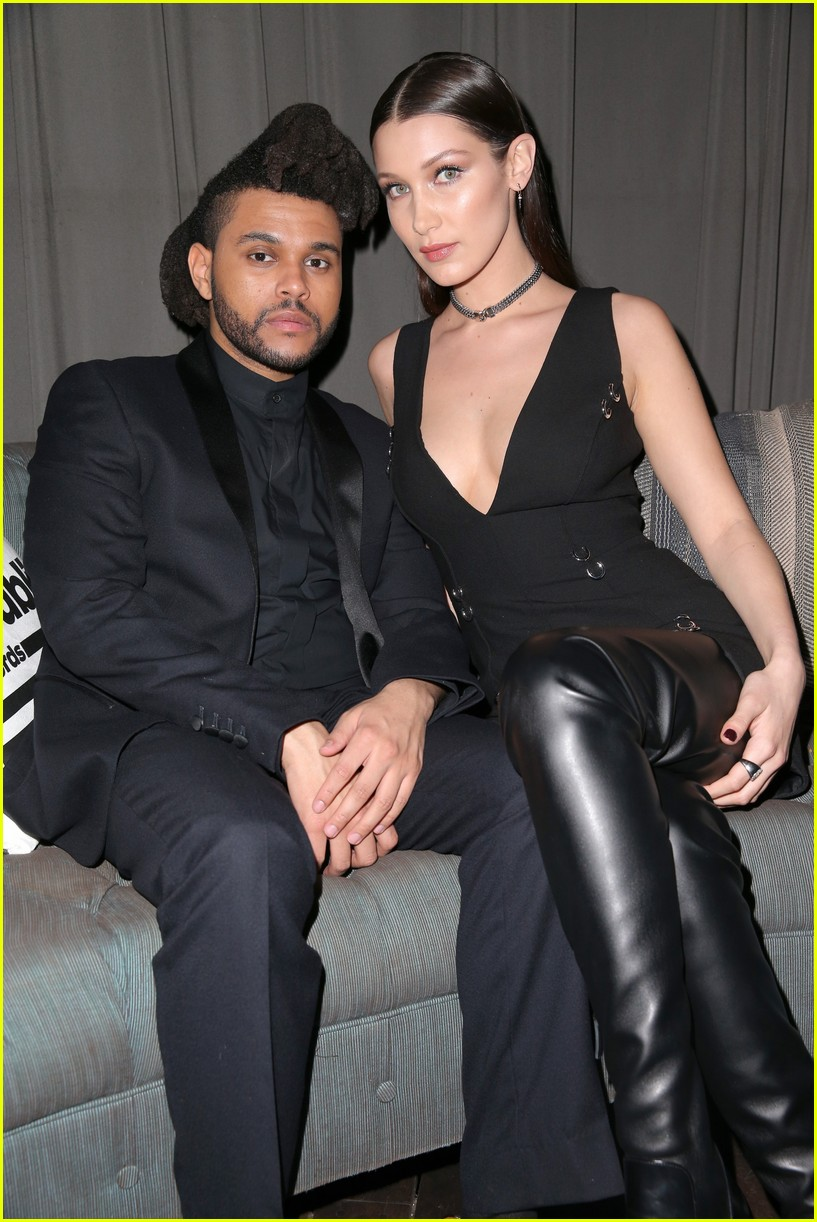 bella hadid denies kissing the weeknd 064065999