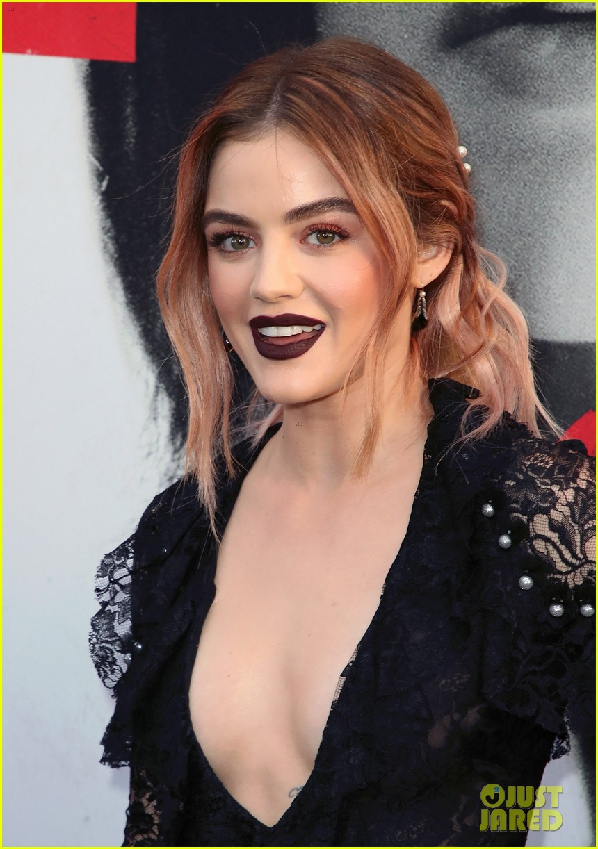 lucy hale tyler posey truth or dare premiere 114063757