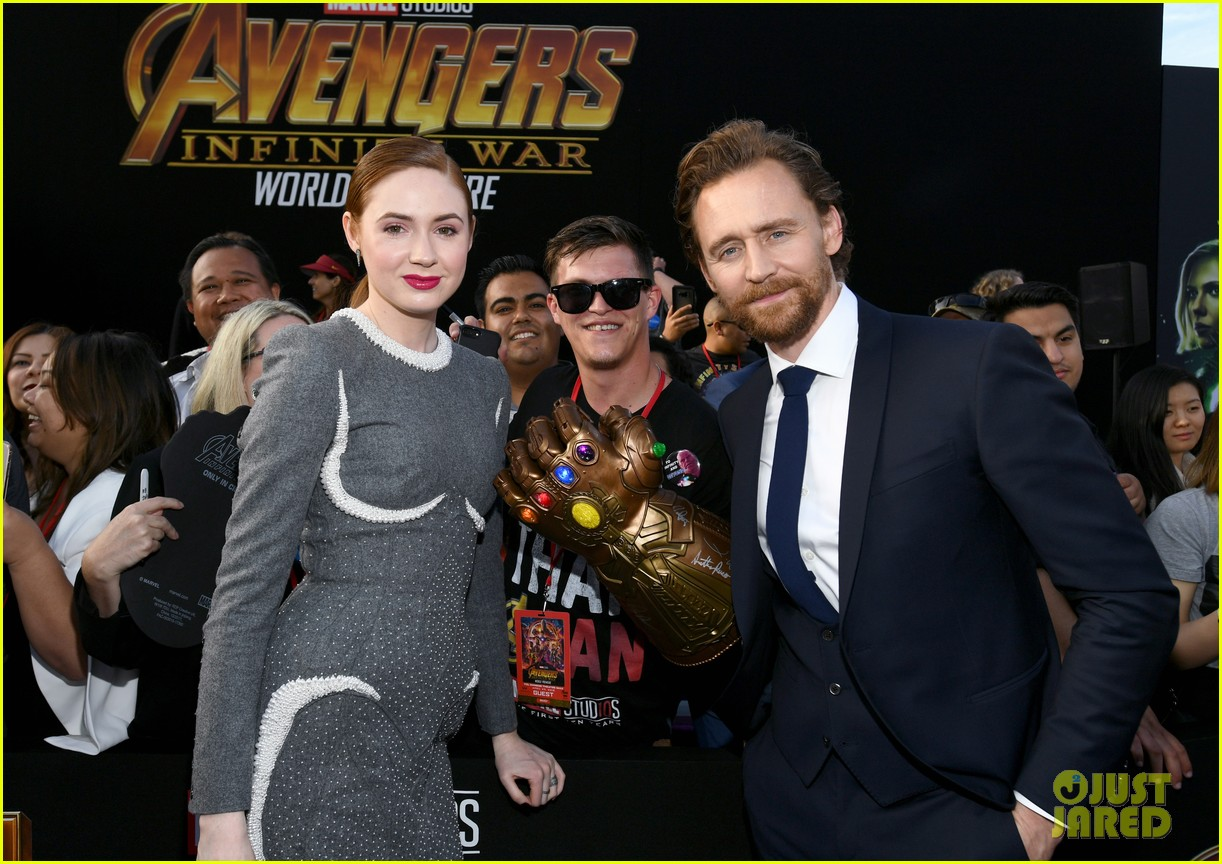 chris hemsworth and tom hiddleston represent thor at avengers premiere 124071154