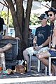 chris hemsworth matt damon out for lunch 45