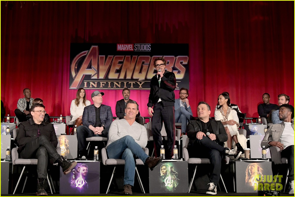 39 Avengers Infinity War 39 Cast Get Together for Global