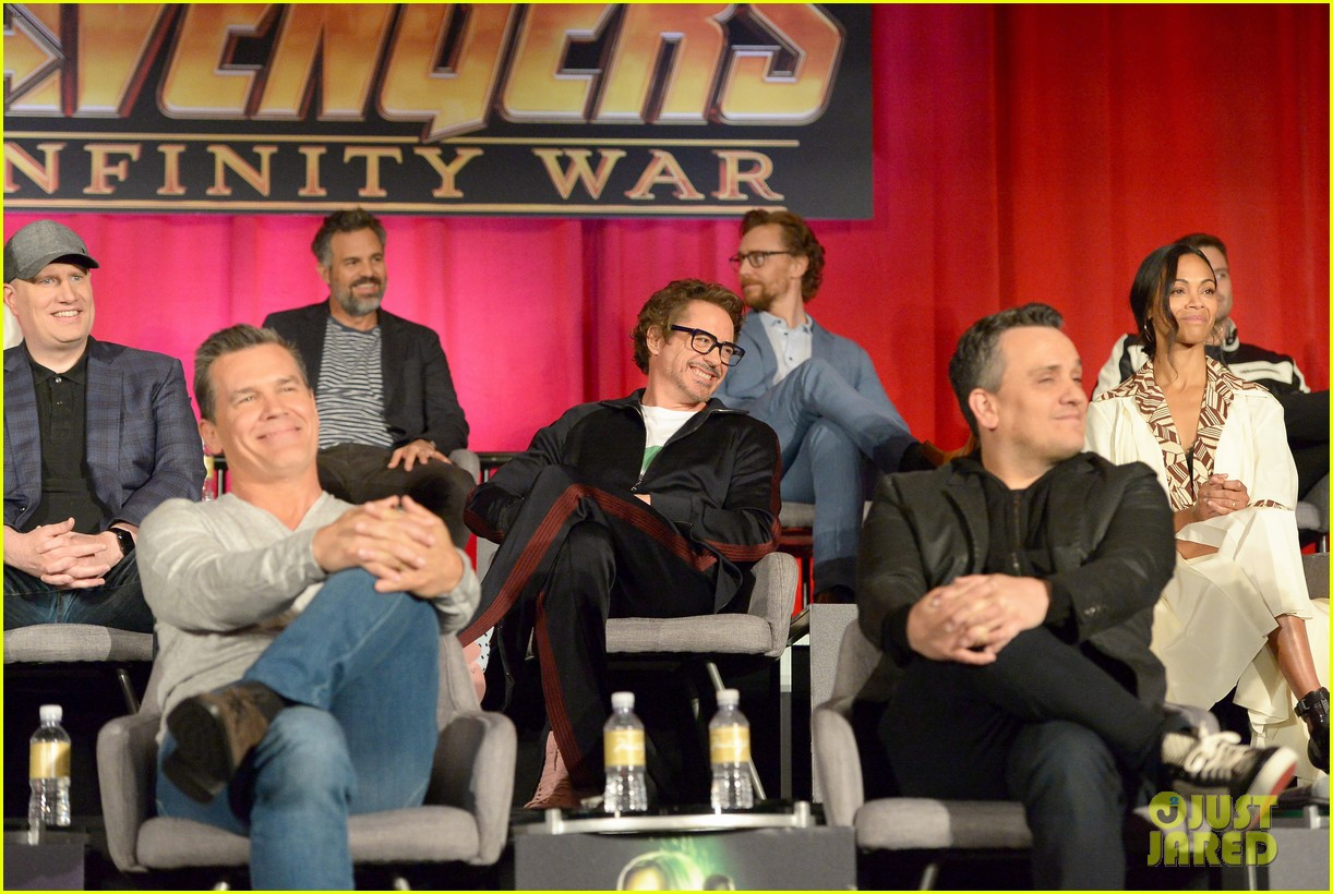 avengers infinity war cast get together for global press conference 174069201