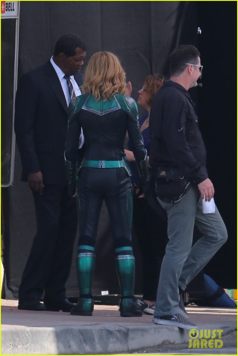 Samuel L. Jackson Seen as Two-Eyed Nick Fury in New ...