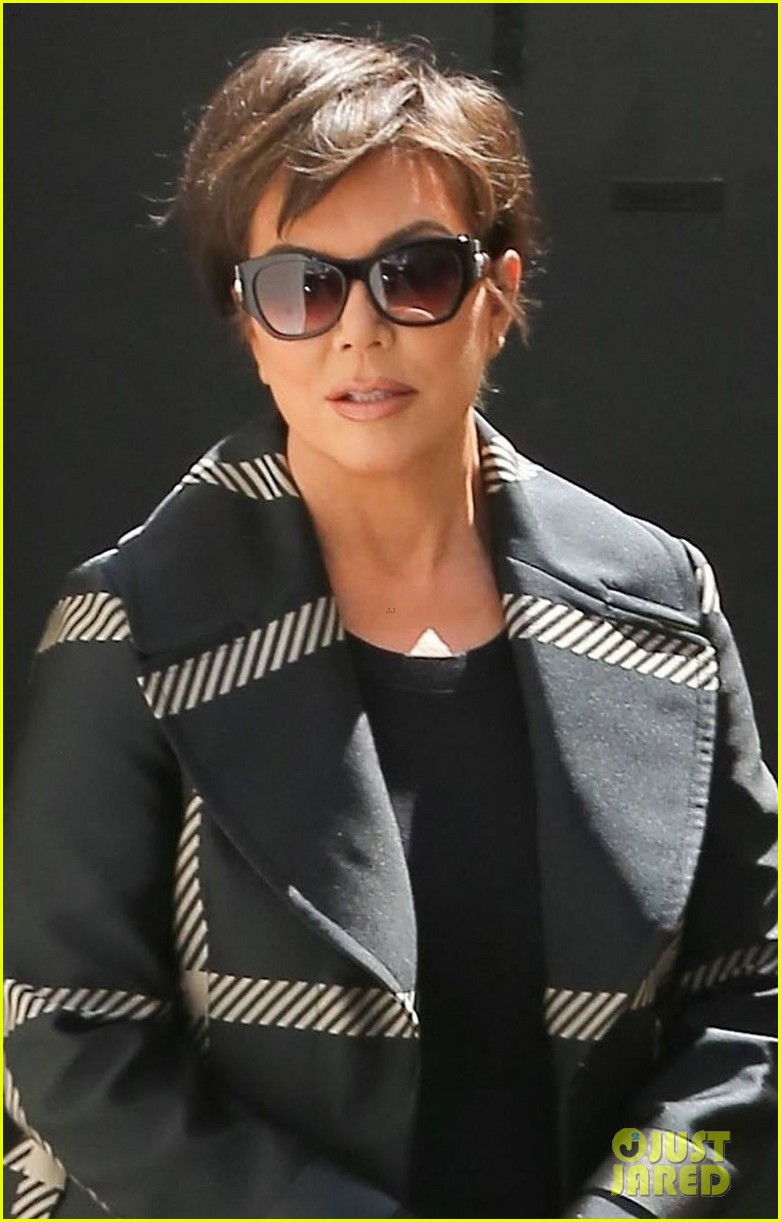kris jenner spends the afternoon at the studio 044073260