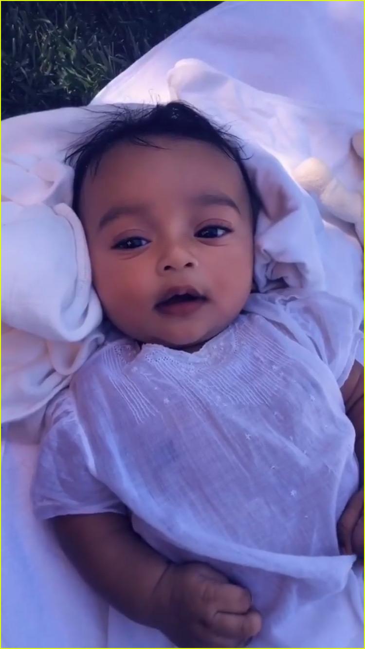 kim kardashian shares adorable new video of daughter