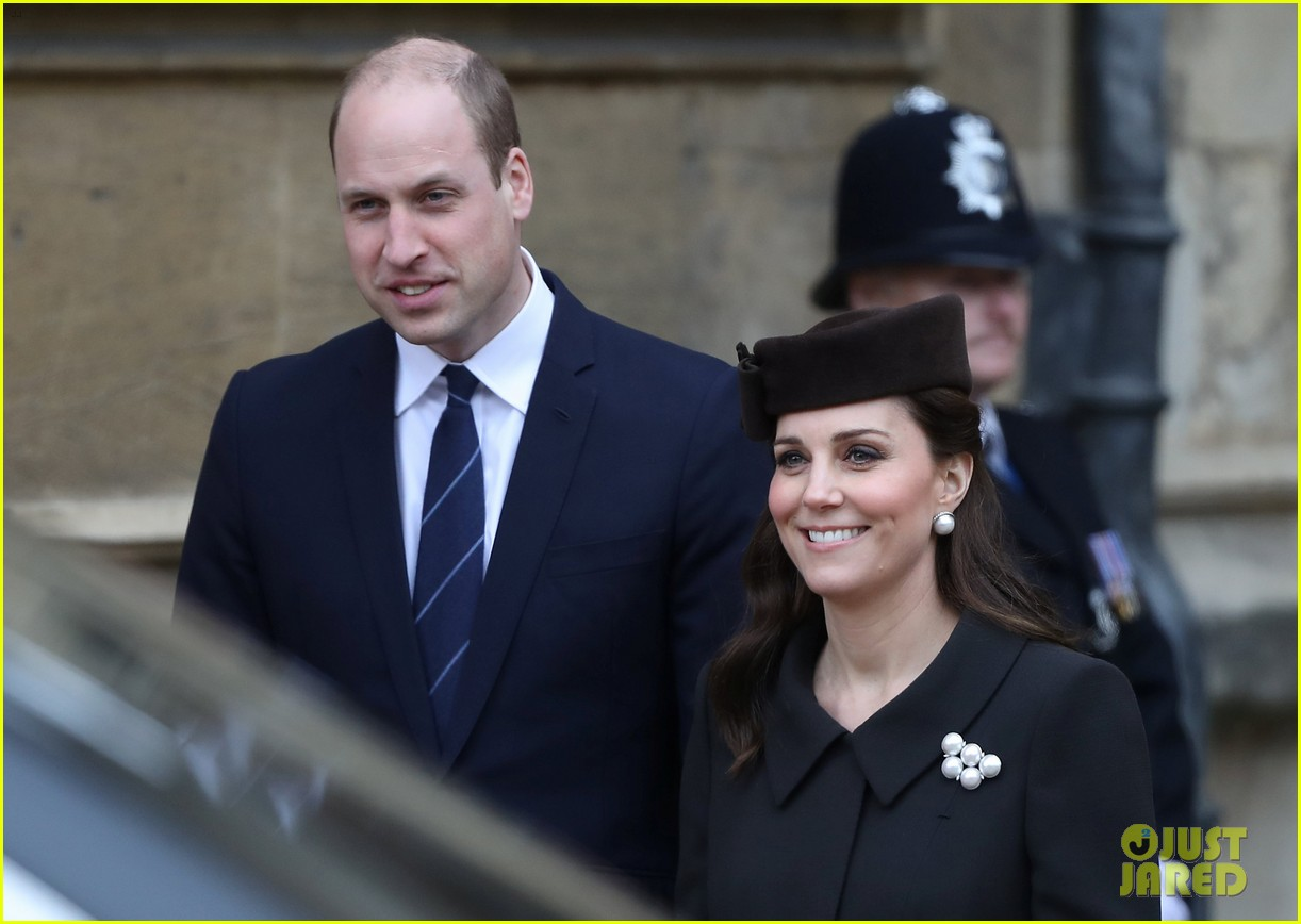 kate middleton prince william easter service 04 - Where Are William And Kate
