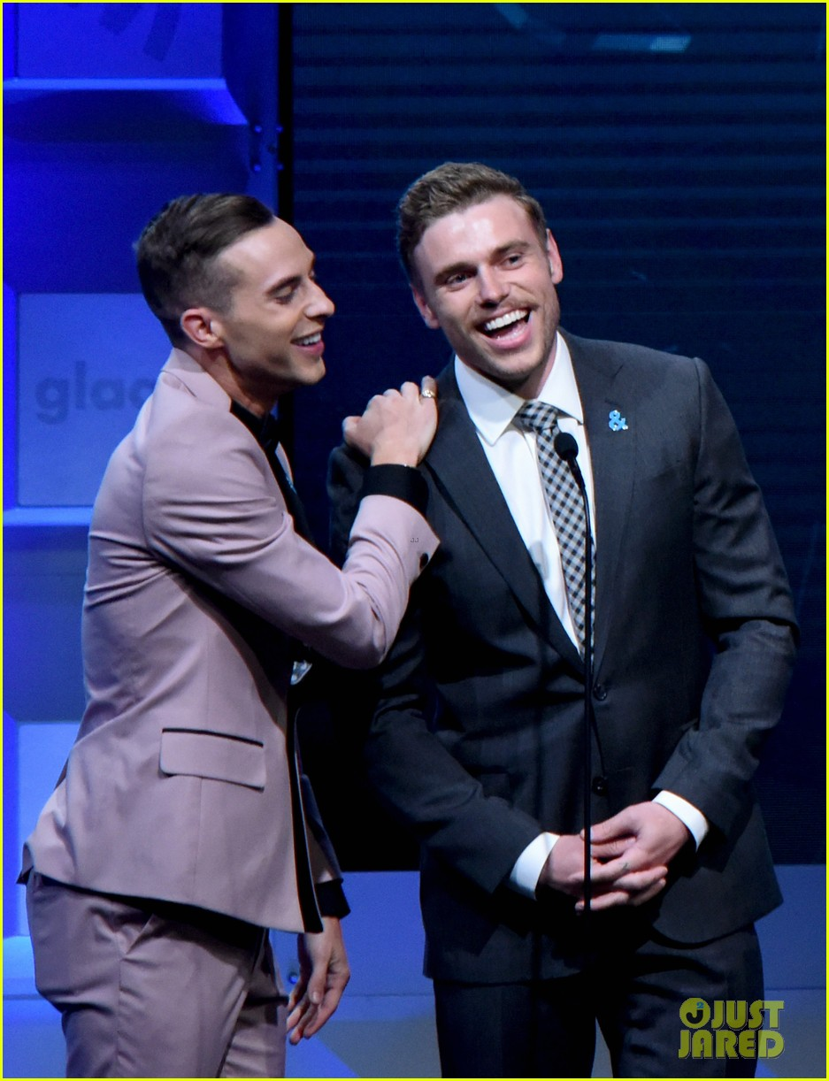 gus kenworthy adam rippon glaad media awards 054063618