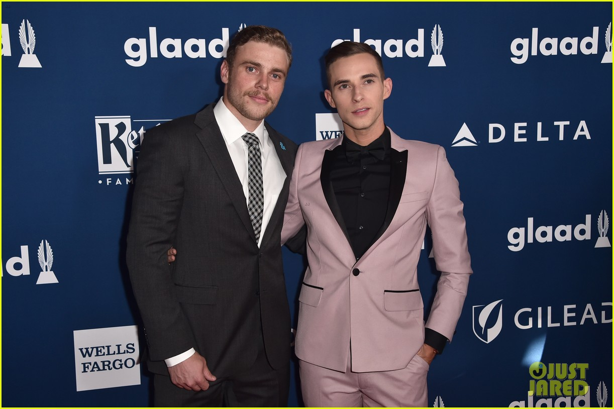 gus kenworthy adam rippon glaad media awards 114063624