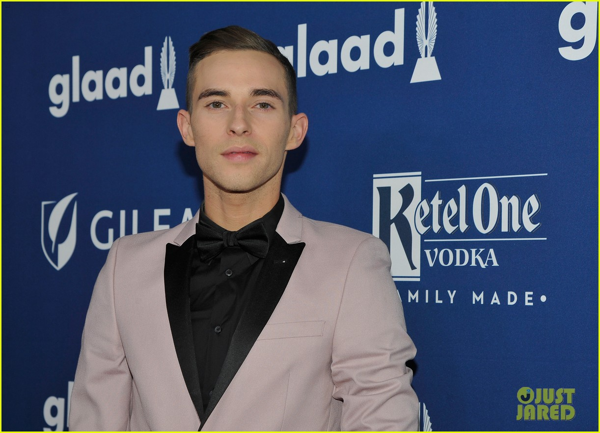 gus kenworthy adam rippon glaad media awards 124063625