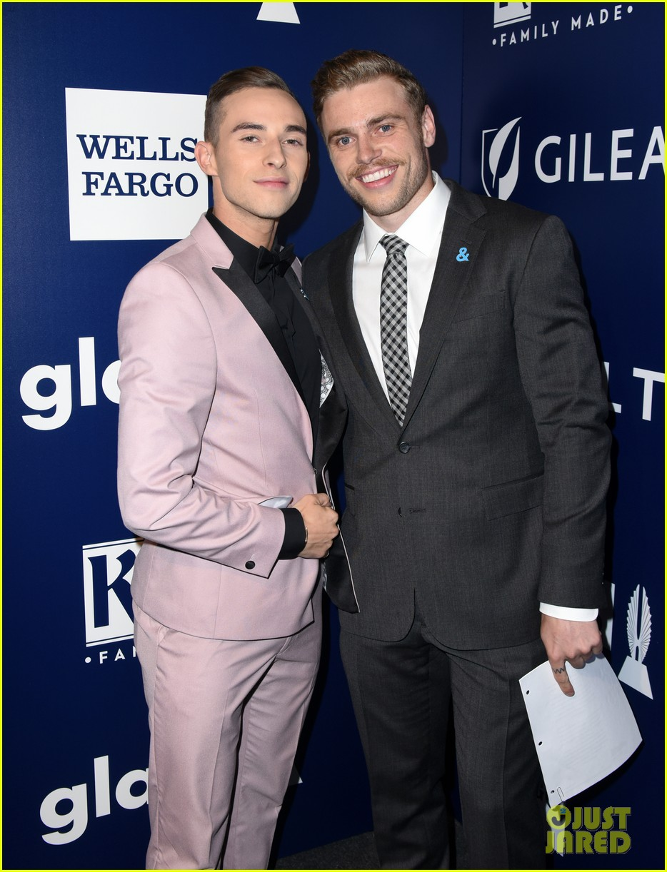 gus kenworthy adam rippon glaad media awards 144063627
