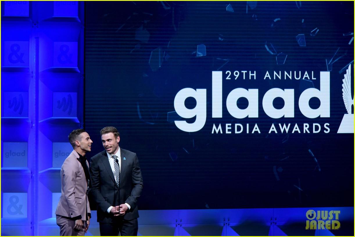 gus kenworthy adam rippon glaad media awards 214063634