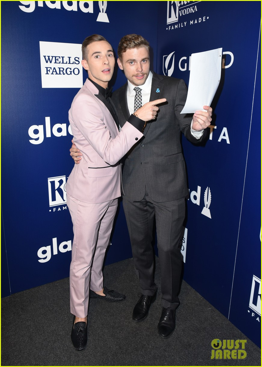 gus kenworthy adam rippon glaad media awards 224063635
