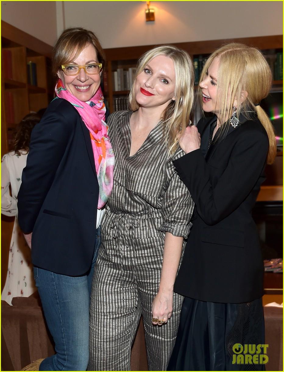 Nicole Kidman Laura Dern Allison Janney Buddy Up At Instyles