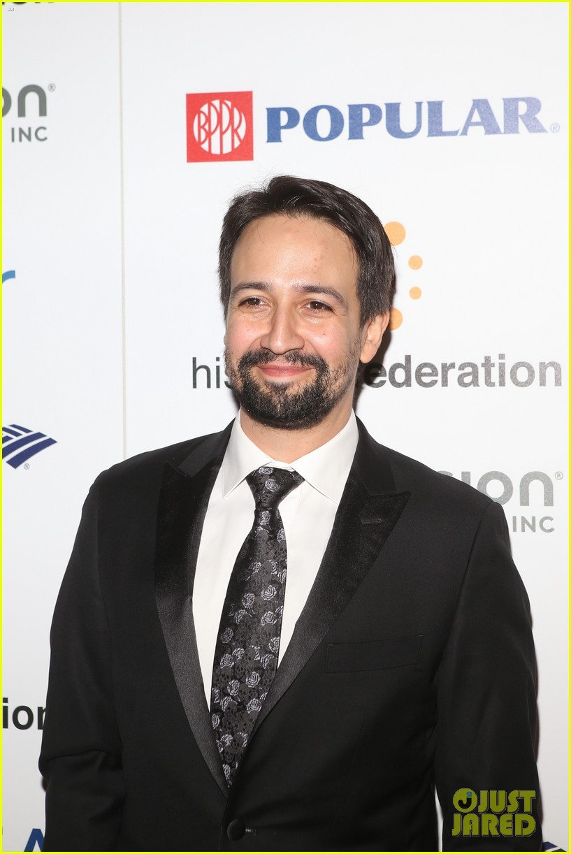 ricky martin lin manuel miranda suit up for rising stronger gala in NYC 05