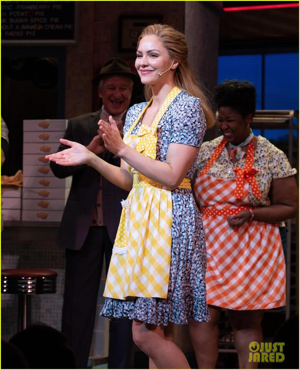 Katharine Mcphee Makes Her Broadway Debut In Waitress Photos Photo 4062603 Broadway Katharine Mcphee Pictures Just Jared