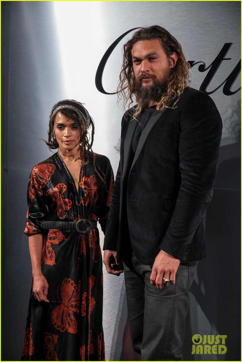 jason momoa lisa bonet more couple up at santos de cartier watch launch 024060823