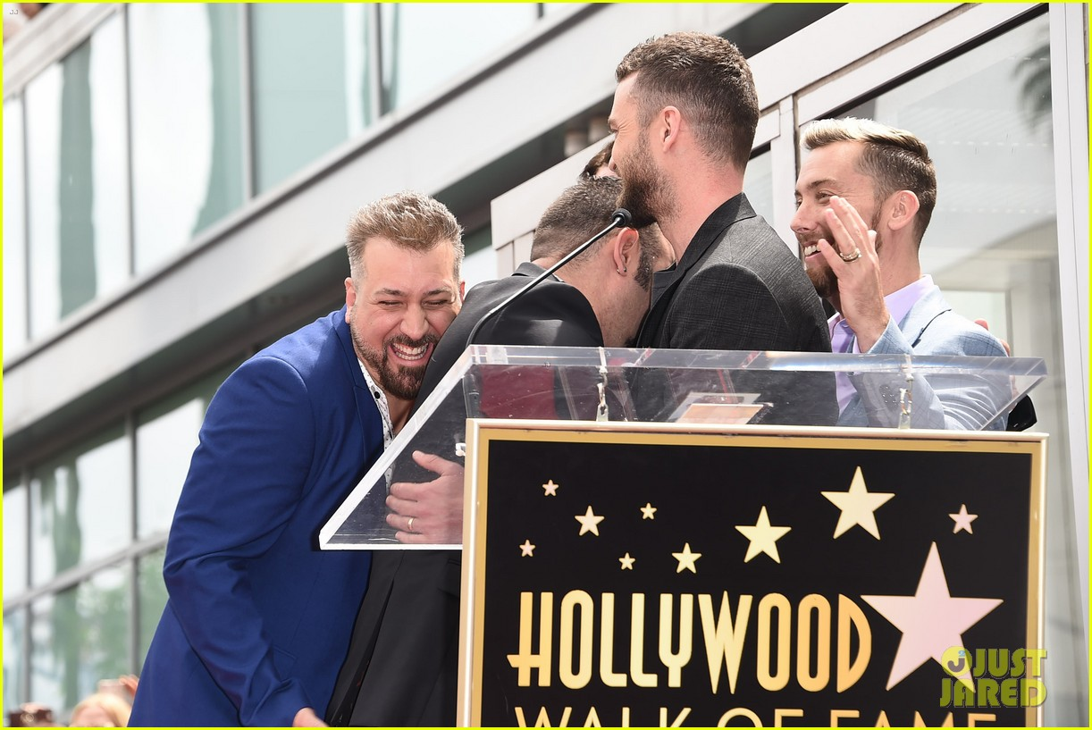nsync justin timberlake hollywood walk of fame 054074822