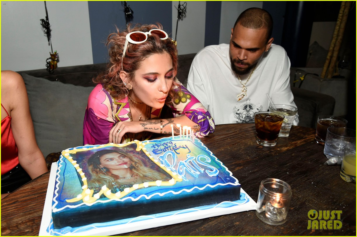 paris jackson birthday party chris brown 104061213