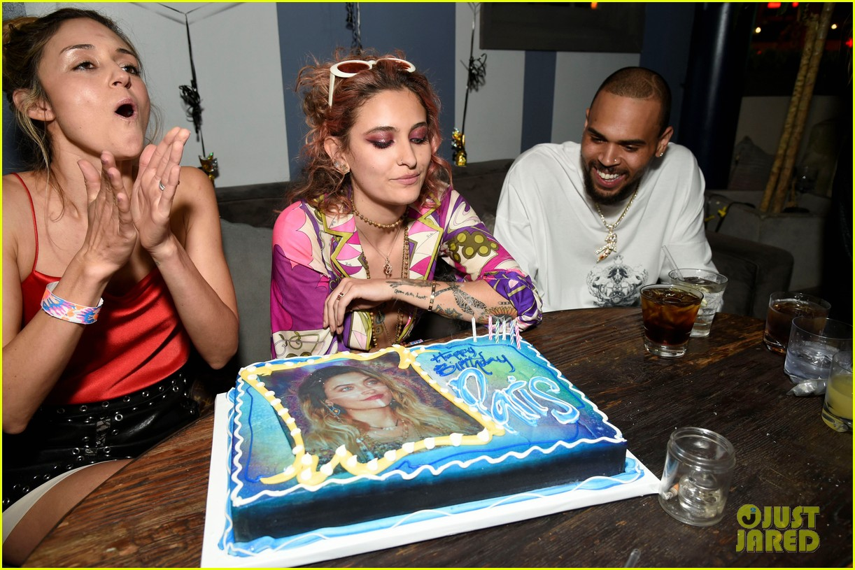 paris jackson birthday party chris brown 114061214