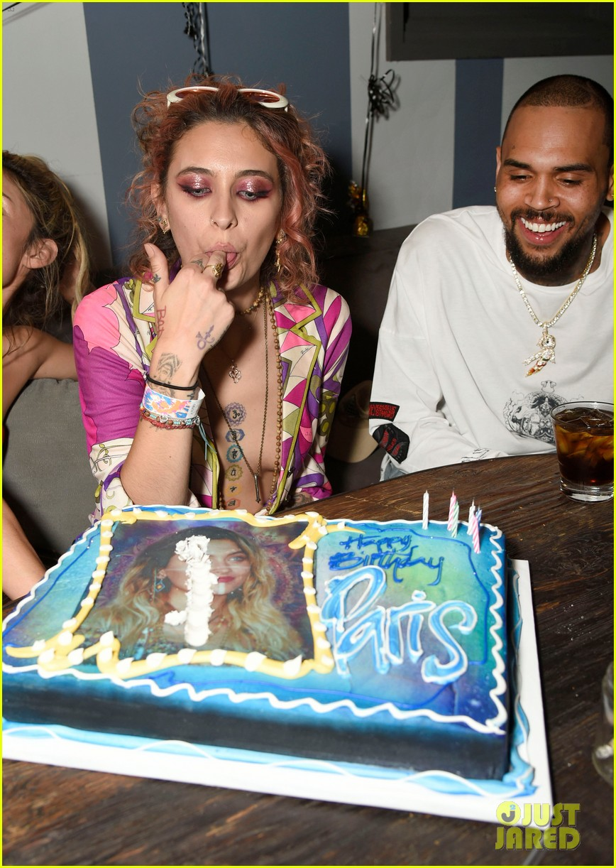 paris jackson birthday party chris brown 124061215