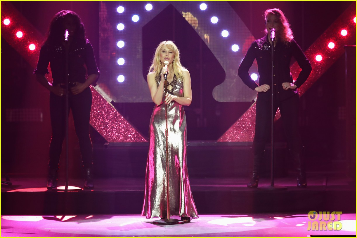 Liam Payne Joins Rita Ora & Kylie Minogue at Echo Awards ...