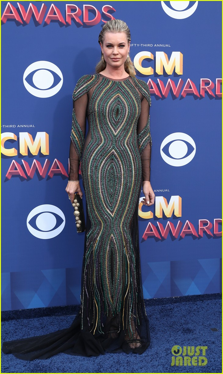 rebecca romijn jerry oconnell acm awards 2018 194065574