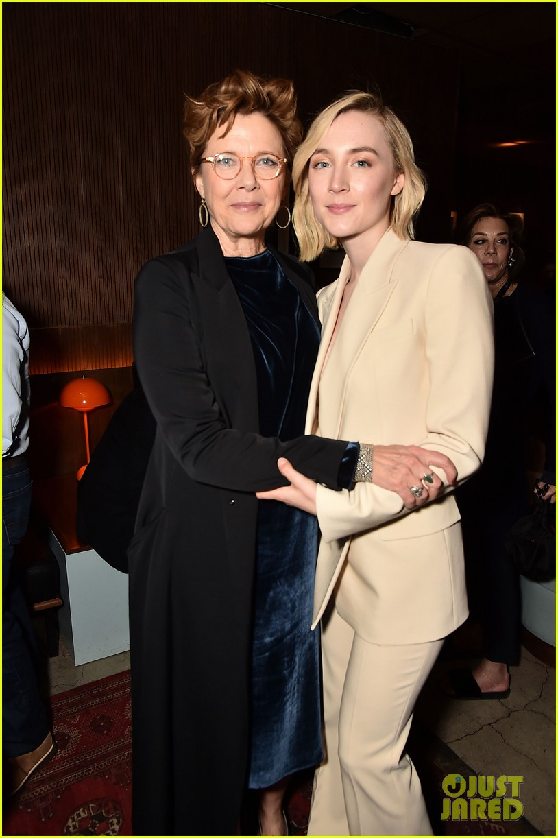 saoirse ronan joins annette bening at seagull screening 044068685