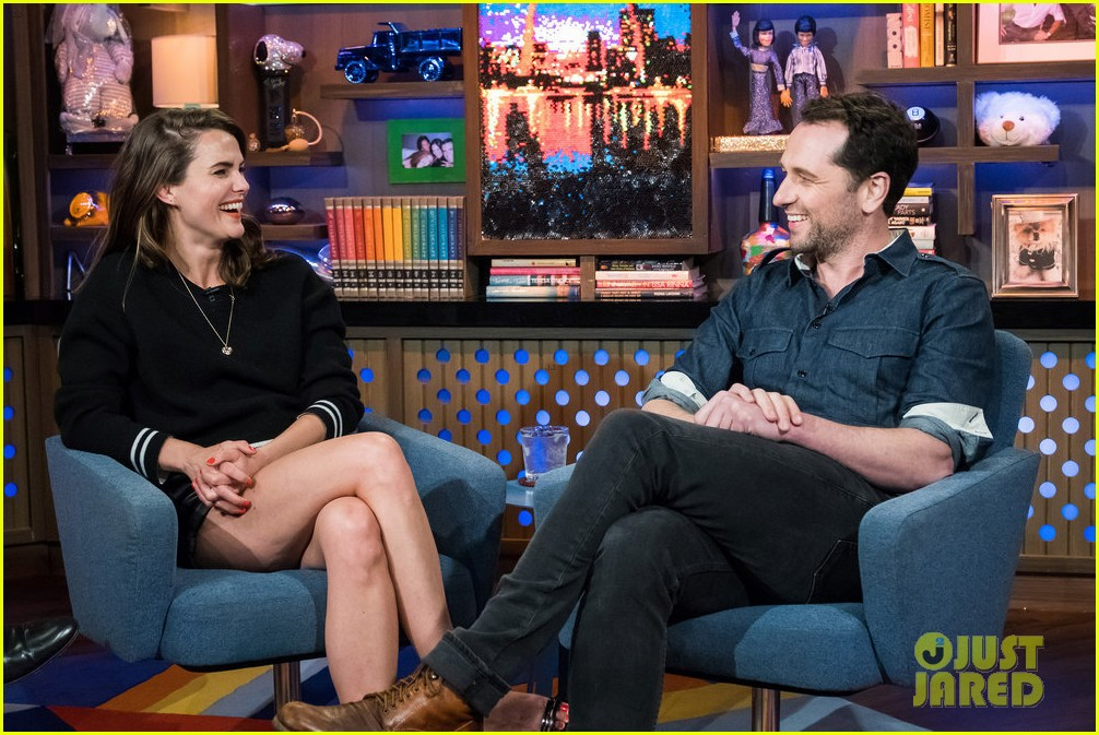 keri russell gets questioned about felicity revival on wwhl 024060987