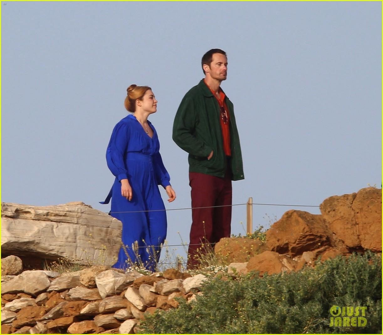 Florence Pugh Actor >> Alexander Skarsgard Begins Filming 'Little Drummer Girl