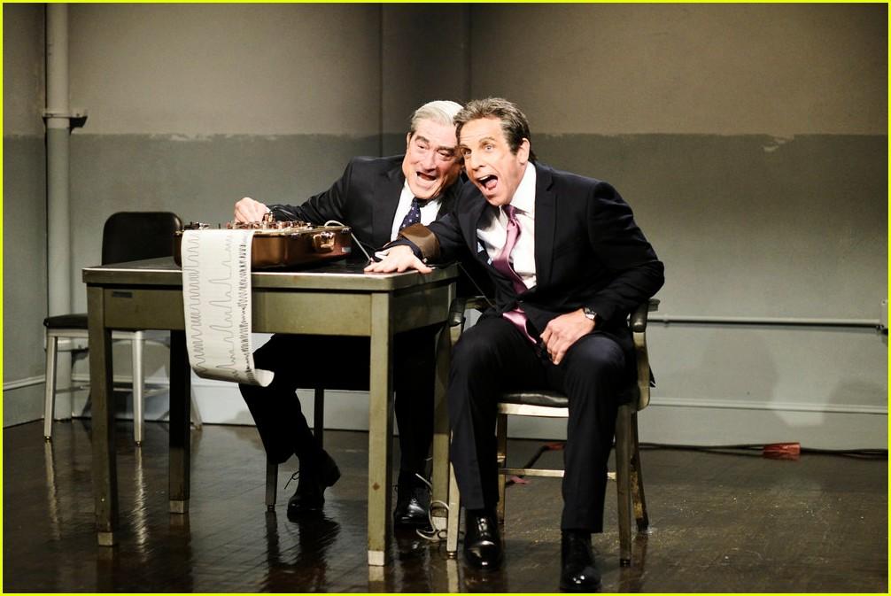 'SNL': Robert De Niro and Ben Stiller Re-Create 'Meet the ...