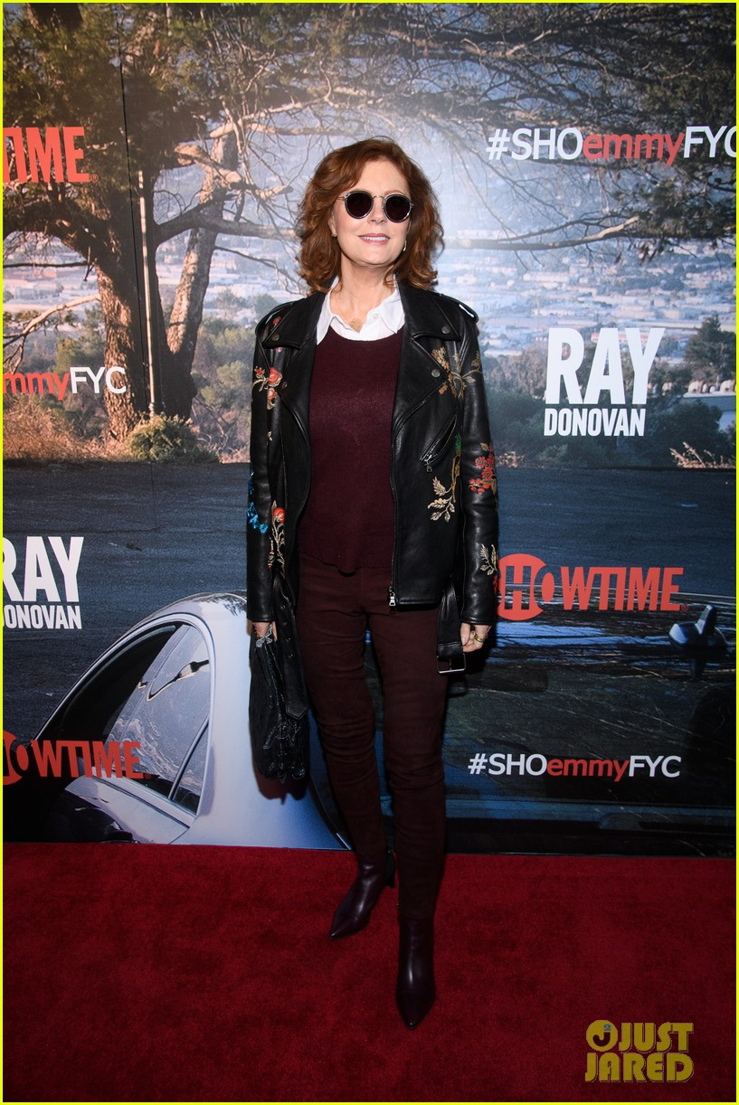 31c58caf0d2f38 Liev Schreiber   Susan Sarandon Promote  Ray Donovan  in NYC  Photo ...