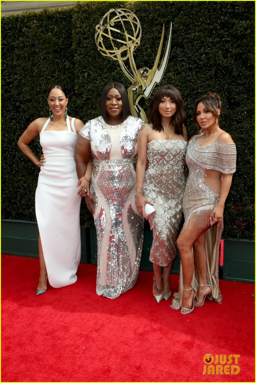 ladies of the talk the real win big at daytime emmy awards 2018 014074680