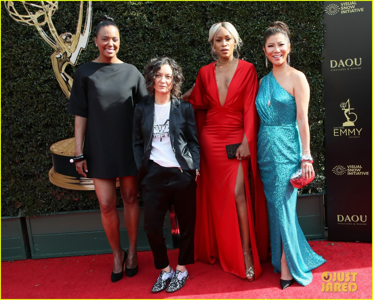 ladies of the talk the real win big at daytime emmy awards 2018 034074682