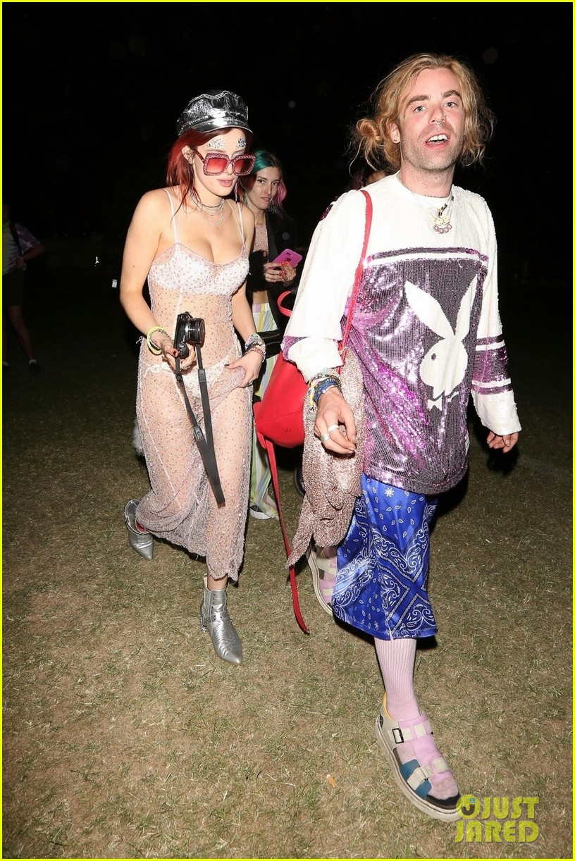 bella thorne sheer dress coachella mod sun 024065910