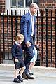 prince george princess charlotte visit baby brother 28