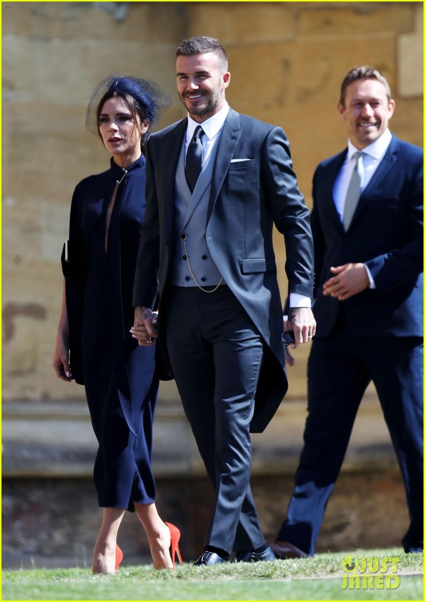 David Victoria Beckham Attend Their Second Royal Wedding
