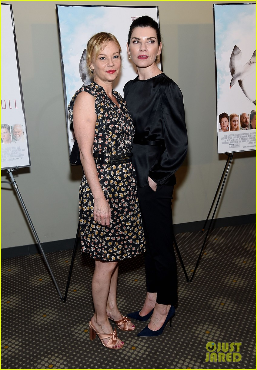 annette bening steps out for the seagull new york screening watch trailer 054081139