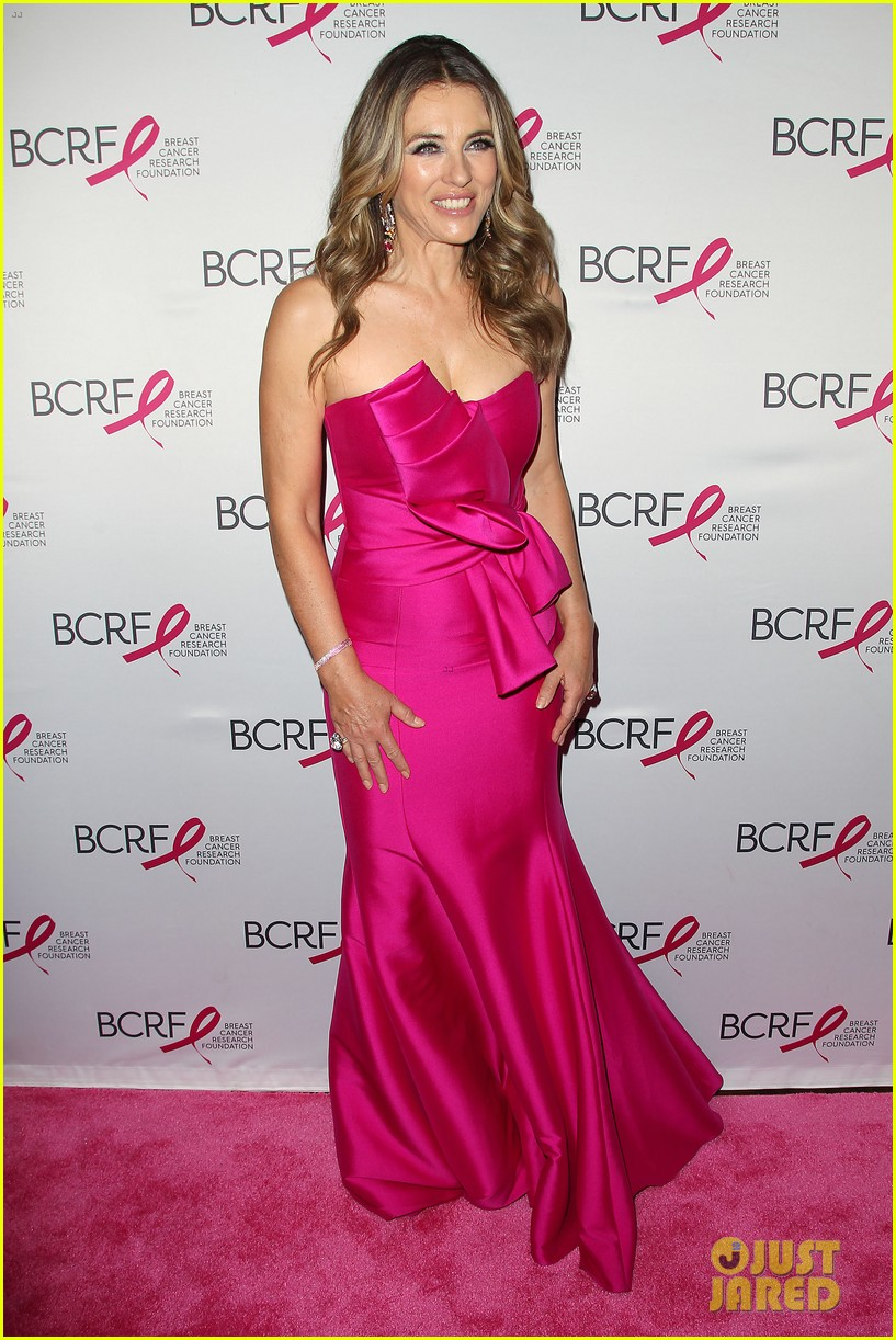 Mary J. Blige & Elizabeth Hurley Dress Up in Pink to Support Breast ...
