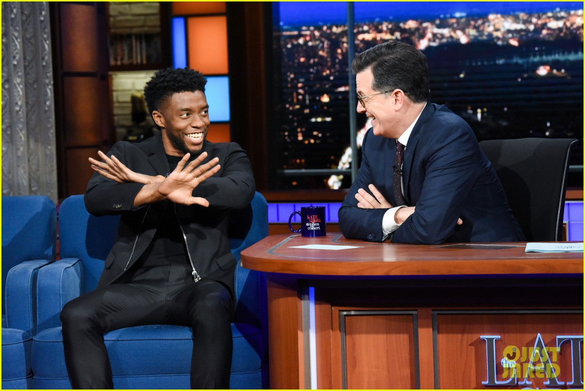chadwick boseman explains funny wakanda forever memes on the late show 014084601