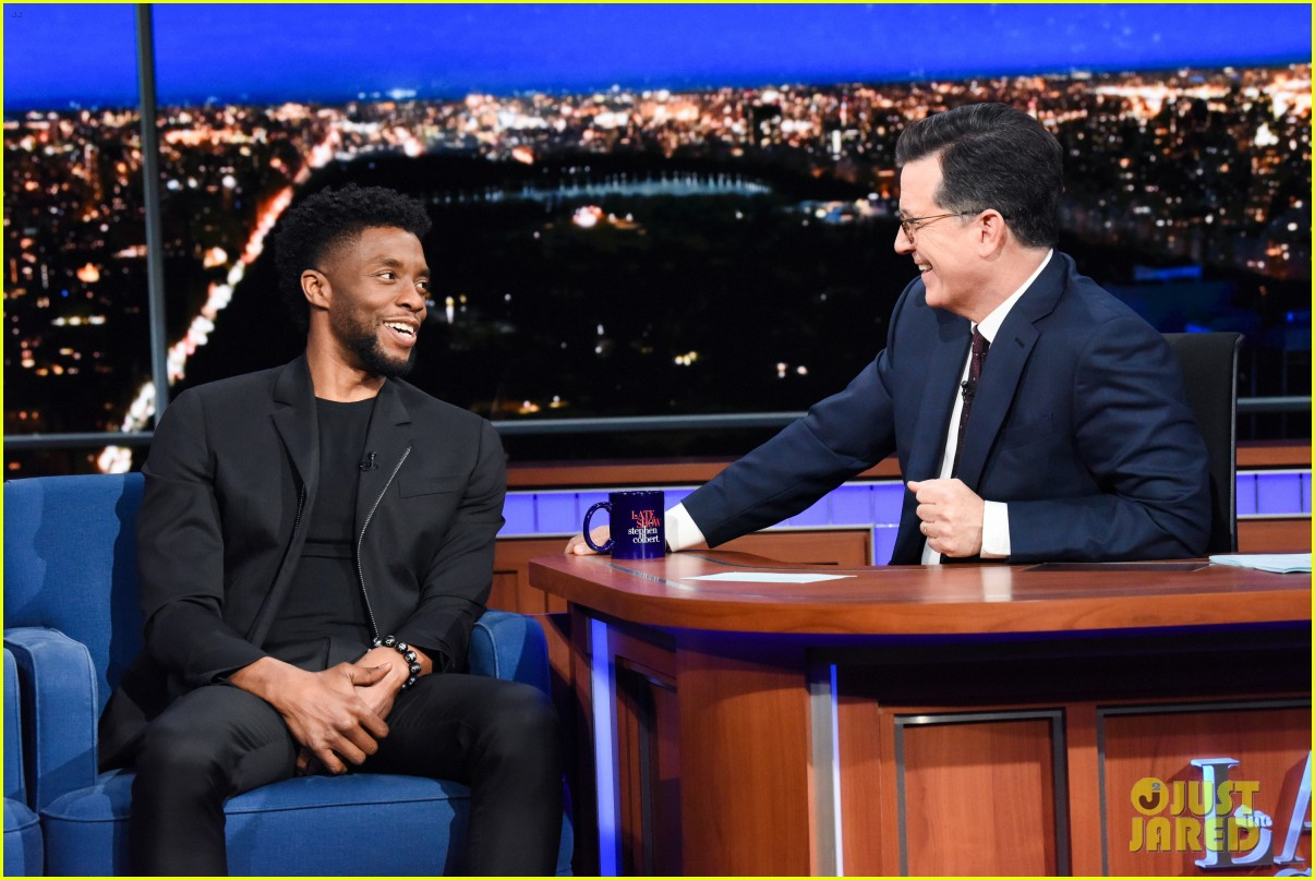 chadwick boseman explains funny wakanda forever memes on the late show 024084602