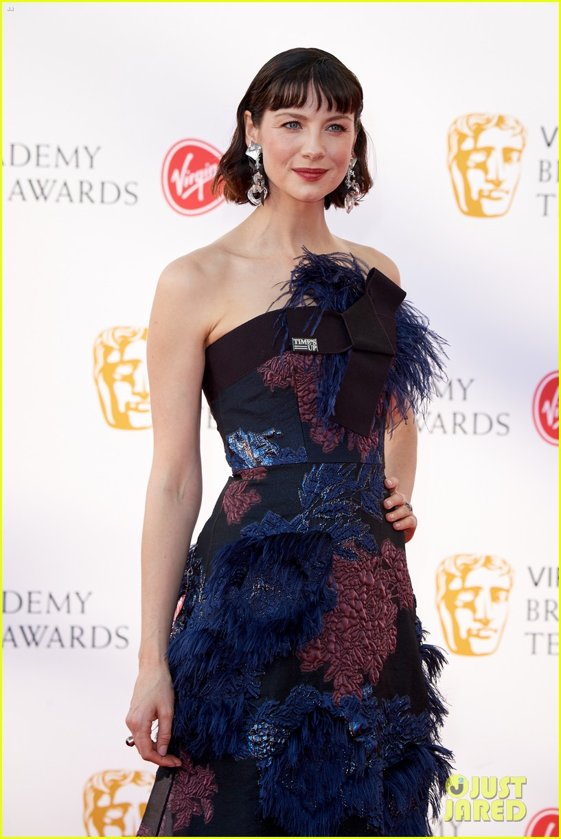 Caitriona Balfe Looks Beautiful On The Red Carpet At Bafta