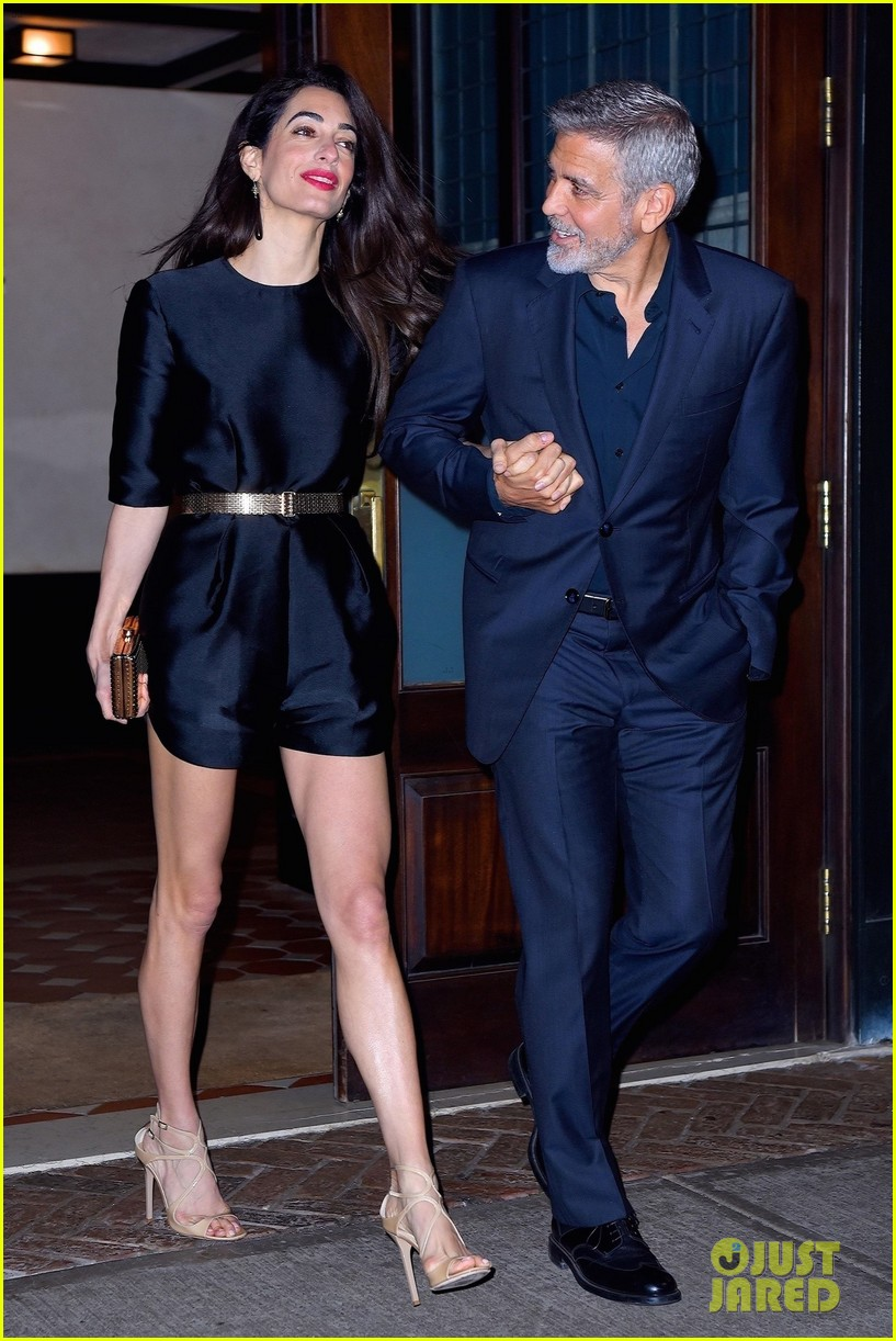 george clooney amal birthday dinner 014078013