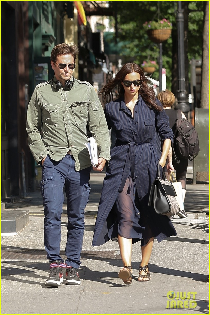 bradley cooper irina shayk couple up for afternoon date 014093204