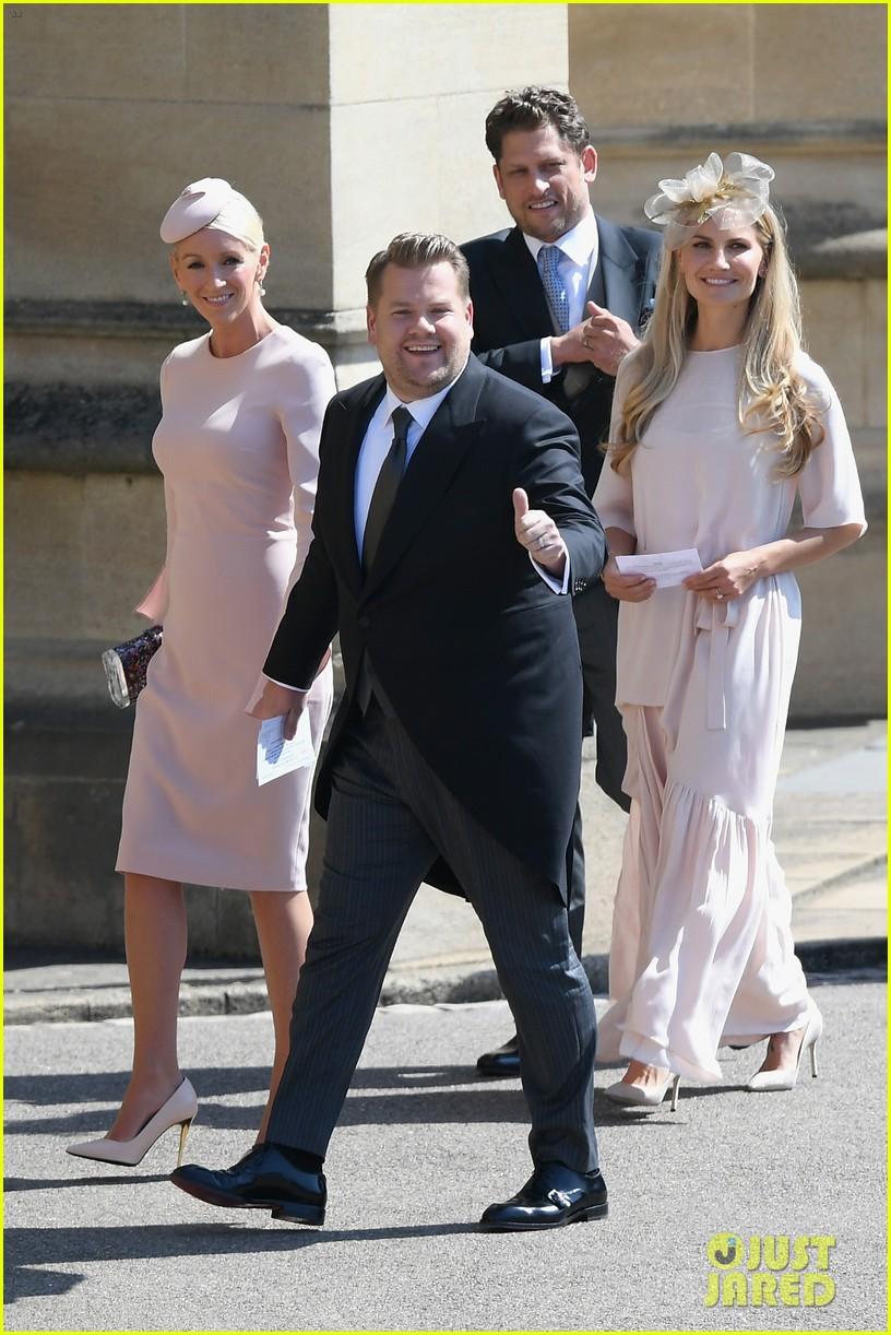 james corden sneeze royal wedding 014088877