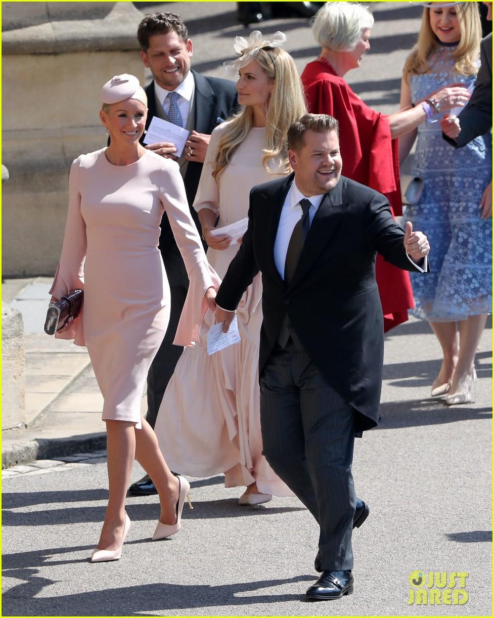 james corden sneeze royal wedding 124088888