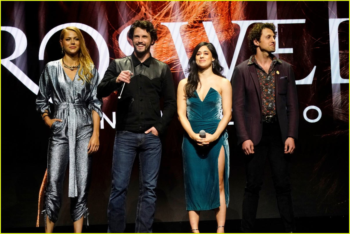riverdale cast teams up for the cws upfront party 2018 464085879