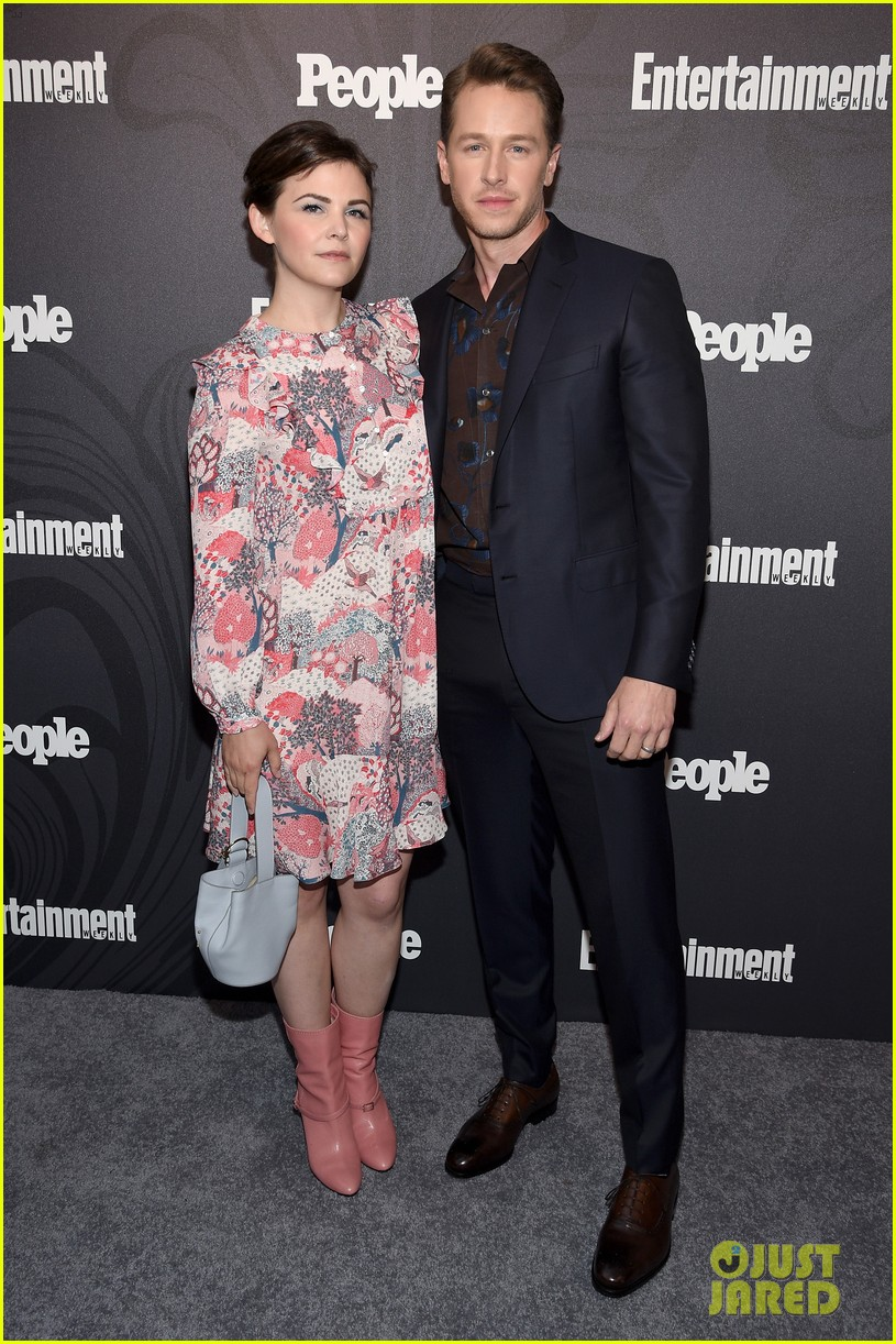 josh dallas wife ginnifer goodwin couple up at ew peoples upfronts bash 2018 044083297